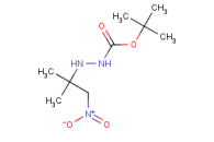tert-Butyl 2-(2-methyl-1-nitropropan-2-yl)hydrazinecarboxylate