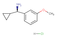 (R)-cyclopropyl(3-methoxyphenyl)methanamine hydrochloride