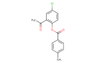 2-acetyl-4-chlorophenyl 4-methylbenzoate