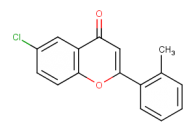 6-chloro-2-(2-methylphenyl)-4H-chromen-4-one