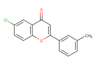 6-chloro-2-(3-methylphenyl)-4H-chromen-4-one