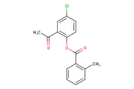 2-acetyl-4-chlorophenyl 2-methylbenzoate