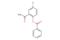 2-acetyl-4-chlorophenyl benzoate