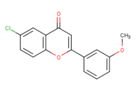 6-chloro-2-(3-methoxyphenyl)-4H-chromen-4-one