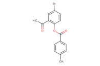 2-acetyl-4-bromophenyl 4-methylbenzoate