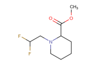 methyl 1-(2,2-difluoroethyl)piperidine-2-carboxylate