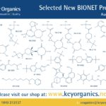 New BIONET compound releases for August 2020
