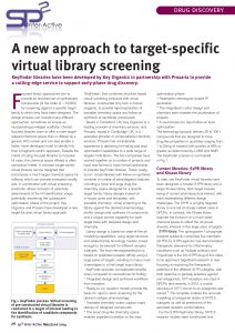 A new approach to target-specific virtual library screening