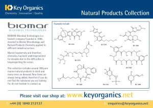 Biomar Natural Products Collection